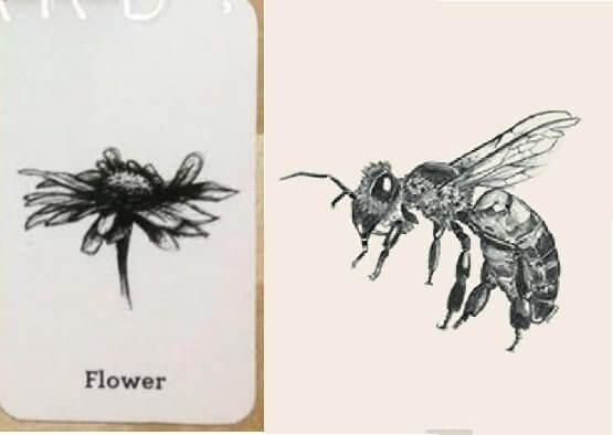 Ghép ong với hoa