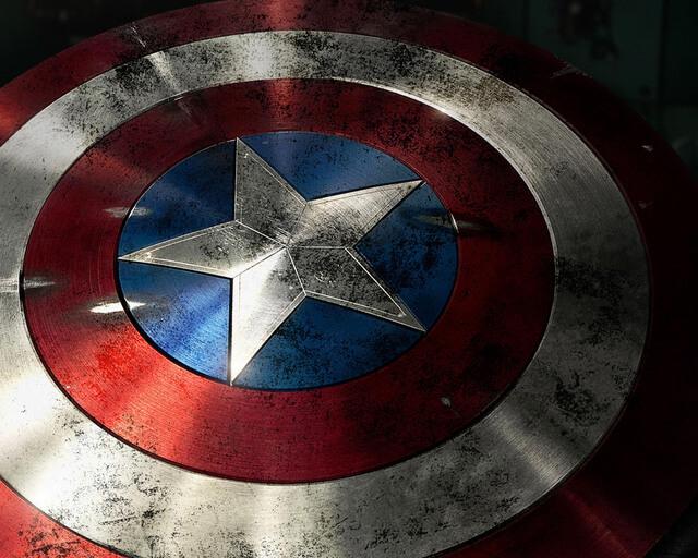 chiec khien cua captain america