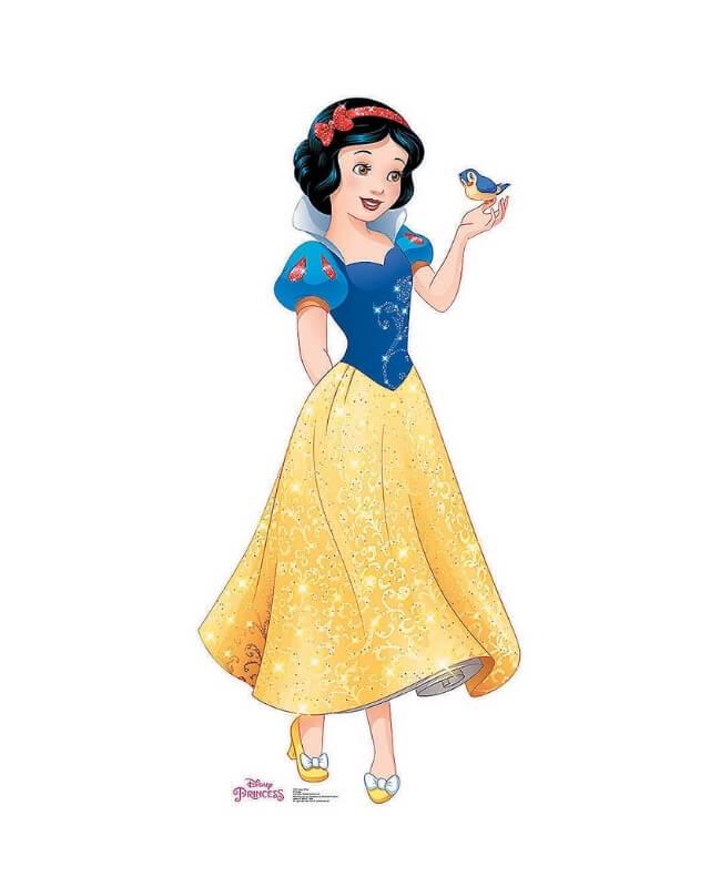 Cung Song Ngư là công chúa Bạch Tuyết