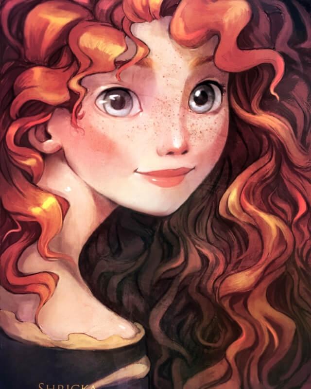 Cung Sư Tử là công chúa Merida