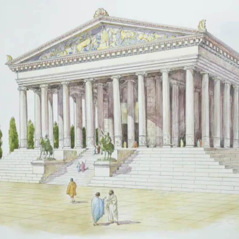 Đền thờ nữ thần Artemis ở Ephesus