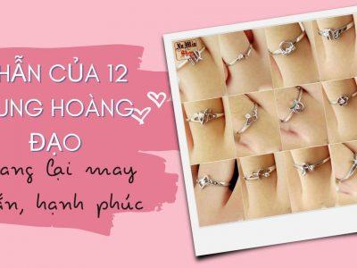 Các loại nhẫn của 12 cung hoàng đạo mang lại may mắn, hạnh phúc